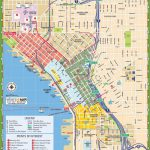 Downtown Seattle Street Map   Map Of Downtown Seattle Streets Within Printable Map Of Downtown Seattle