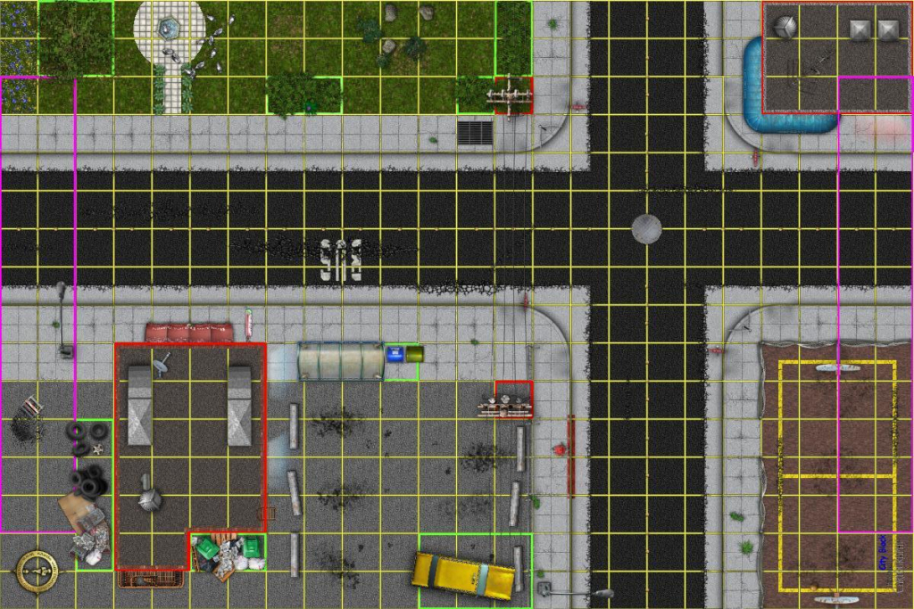 Dundjinni Mapping Software - Forums: Modern City Map For Heroclix within Printable Heroclix Maps