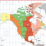 Eastern Time Zone   Wikipedia Inside Printable North America Time Zone Map