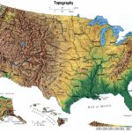 Eastern Us Elevation Map Globe Topographic Map East Coast Usa 16 For Within Printable Topographic Map Of The United States