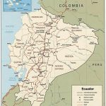 Ecuador Maps | Printable Maps Of Ecuador For Download Throughout Printable Map Of Ecuador