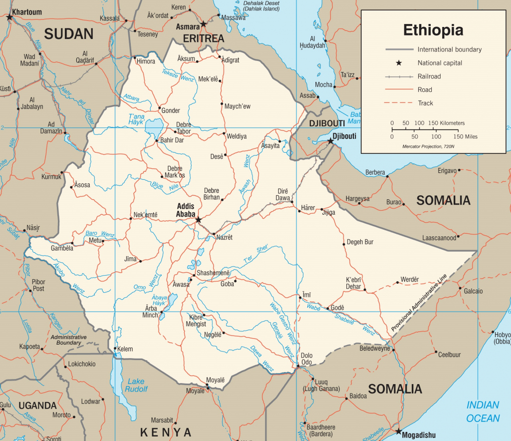 Ethiopia Maps | Maps Of Ethiopia within Printable Map Of Ethiopia