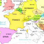 Europe Countries On Printable Map Of With World Maps Within 9 Intended For Printable Map Of Europe With Countries