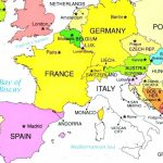 European Countries And Capital Cities Interactive Map So Much Of Pertaining To Printable Map Of Europe With Countries And Capitals