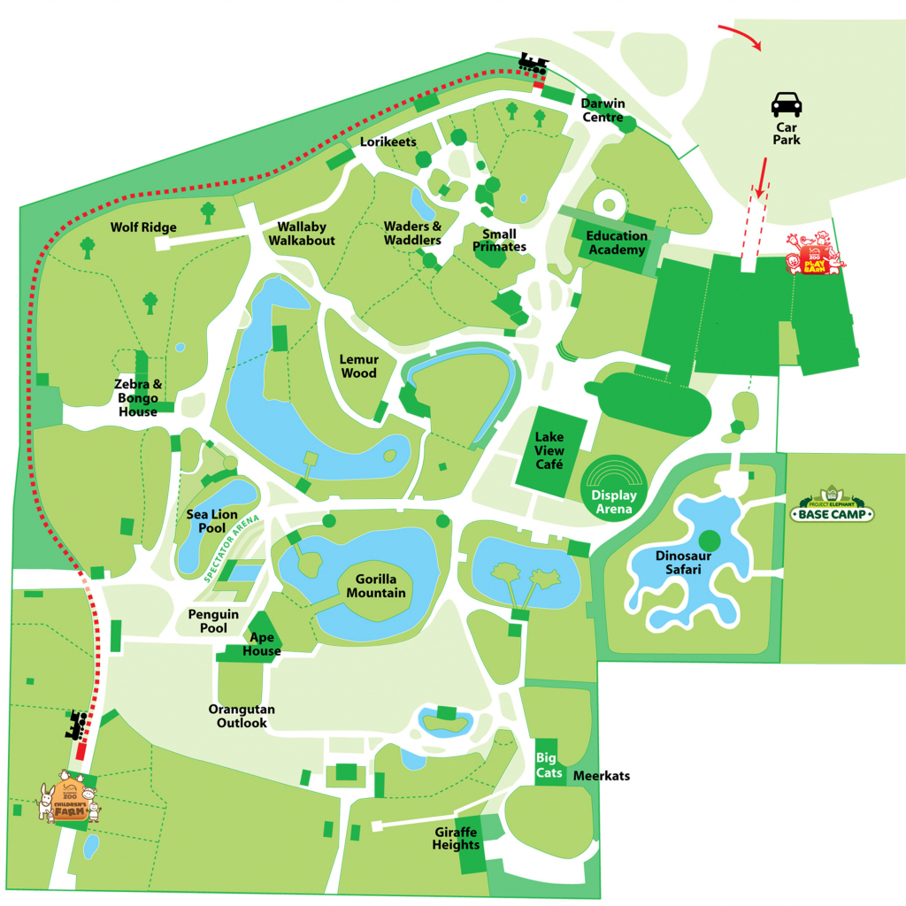 Explore Our Map | Blackpool Zoo pertaining to Blackpool Tourist Map Printable