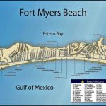 Fort Myers Beach Street Map | The Best Beaches In The World Regarding Printable Map Of Ft Myers Fl