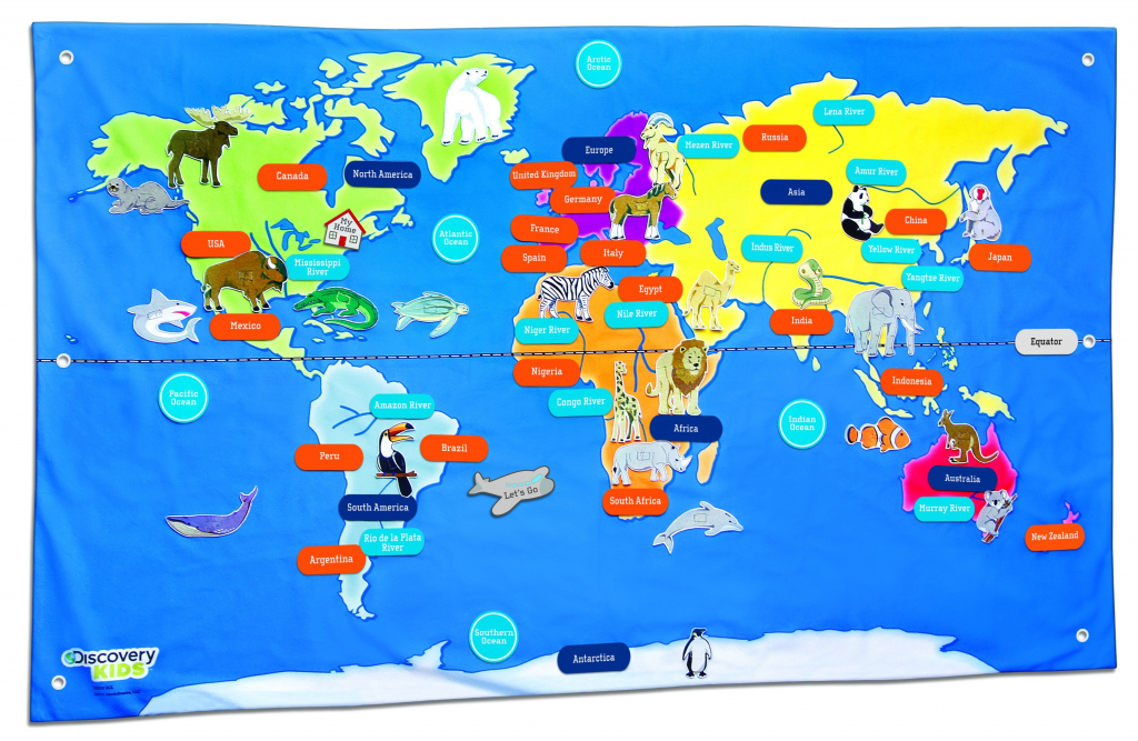 Free Country Maps For Kids A Ordable Printable World Map With with Printable World Maps For Students