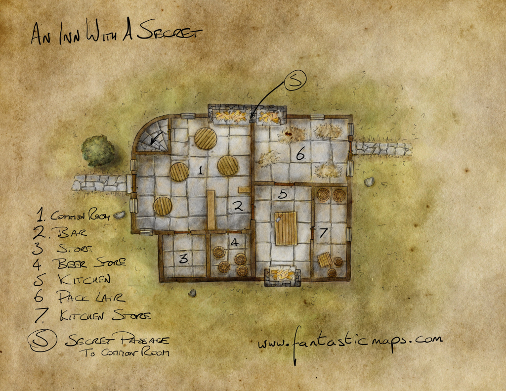 Free Maps - Fantastic Maps intended for D&d Printable Maps