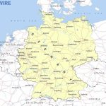 Free Maps Of Germany – Mapswire Pertaining To Printable Map Of Germany