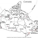 Free Printable Map Canada Provinces Capitals   Google Search Within Free Printable Map Of Canada Worksheet