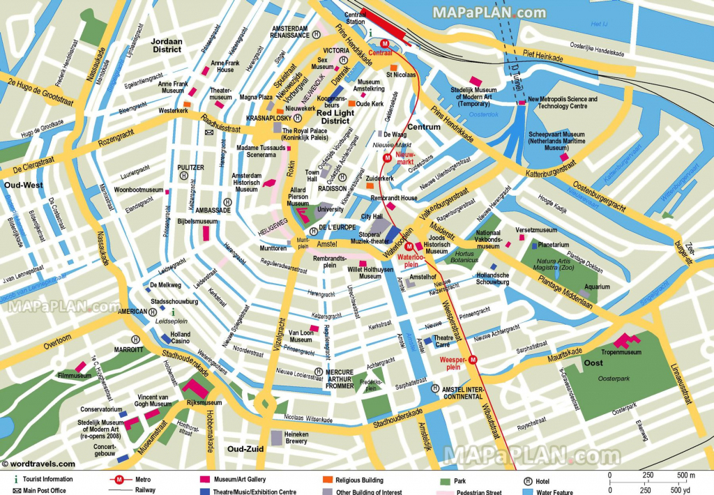 Free Printable Map Of Amsterdam - Google Search   Earth/environment intended for Printable Map Of Amsterdam