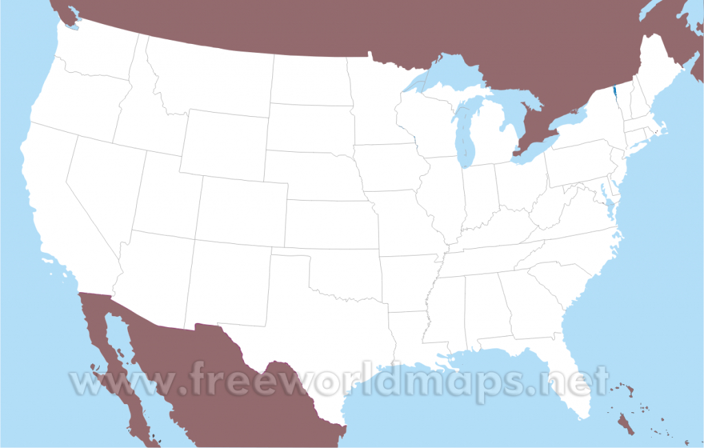 Free Printable Maps Of The United States in Map Of The United States By Regions Printable