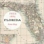 Free Printable Old Map Of Florida From 1885. #map #usa | Maps And With Regard To Free Printable Map Of Florida