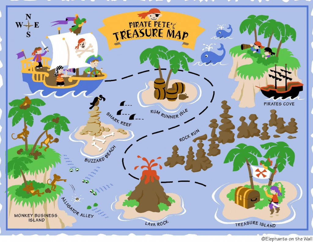 Free Printable Pirate Treasure Map - Google Search | Boy Pirates with regard to Printable Pirate Map