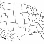 Free Printable Us Map Blank States Valid Outline Usa With At Maps Of Within Blank Us Map With State Outlines Printable