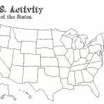 Free Printable Us Map Blank Usa52Blankbwprint Lovely Awesome Blank With Free Printable Blank Map Of The United States