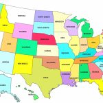 Free Printable Us Maps With Cities | Globalsupportinitiative Pertaining To Free Printable Usa Map