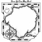 Free Treasure Map Outline, Download Free Clip Art, Free Clip Art On For Printable Treasure Map Template