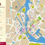 Galway Tourist Map Pertaining To Galway City Map Printable