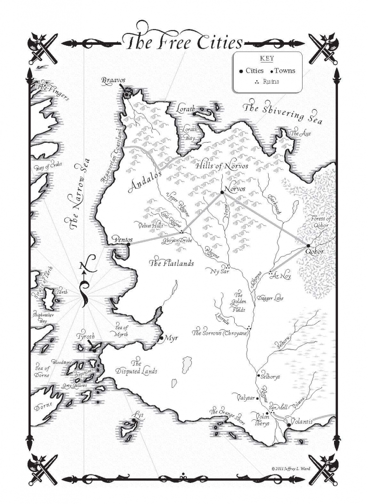 Game Of Thrones Map Pdf - Google Search | Cover Design | Game Of with Game Of Thrones Printable Map