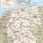 Germany Maps | Printable Maps Of Germany For Download Within Printable Map Of Germany