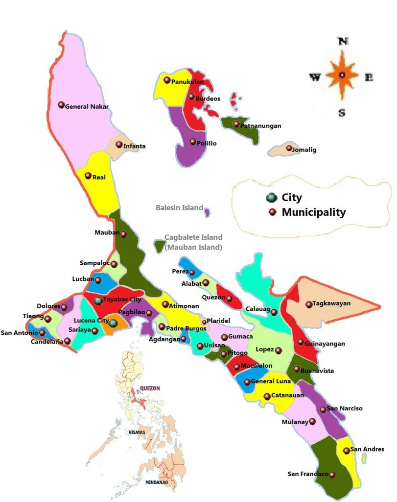 Google Map Of Lucena City Quezon Province | Download Them And Print for Printable Quezon Province Map