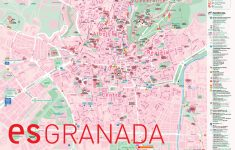 Granada Bus Map with Printable Street Map Of Granada Spain