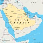 Graphi Ogre Saudi Arabia Political Wall Map Printable Map Of Saudi Regarding Printable Map Of Saudi Arabia