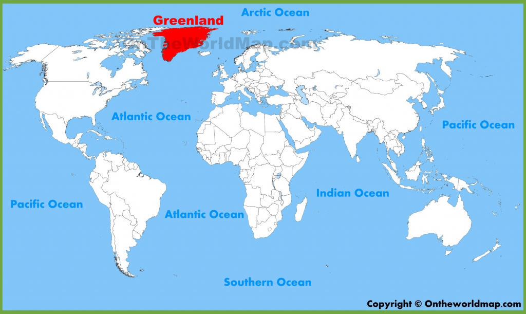 Greenland Maps | Maps Of Greenland regarding Printable Map Of Greenland