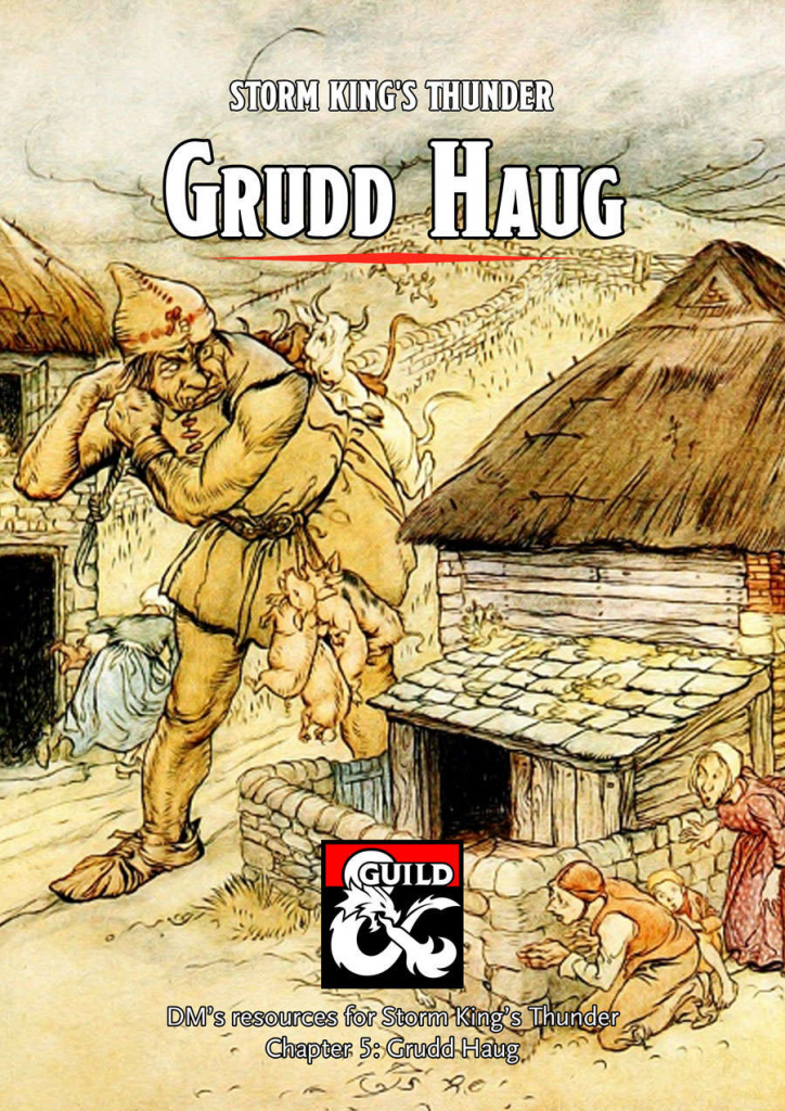 Grudd Haug - A Storm King's Thunder Dm's Resource - Dungeon Masters throughout Storm King's Thunder Printable Maps