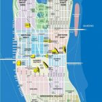 High Resolution Map Of Manhattan For Print Or Download | Usa Travel With Printable Map Of Manhattan Pdf