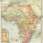 Historical Geography Map Of Africa ~ Free Digital Image   Old Design In Printable Antique Maps Free