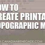 How To Create A Printable Topographic Map In Arcgis Pro   Youtube Intended For How To Create A Printable Map