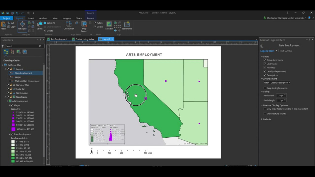 How To Create Printable Maps Using Layouts In Arcgis Pro. - Youtube regarding How To Create A Printable Map