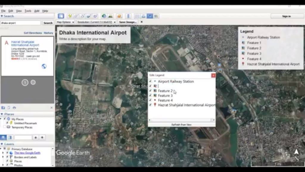 How To Save Image And Print From Google Earth - Youtube intended for Google Earth Printable Maps