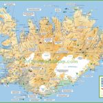 Iceland Tourist Map Pertaining To Printable Map Of Iceland
