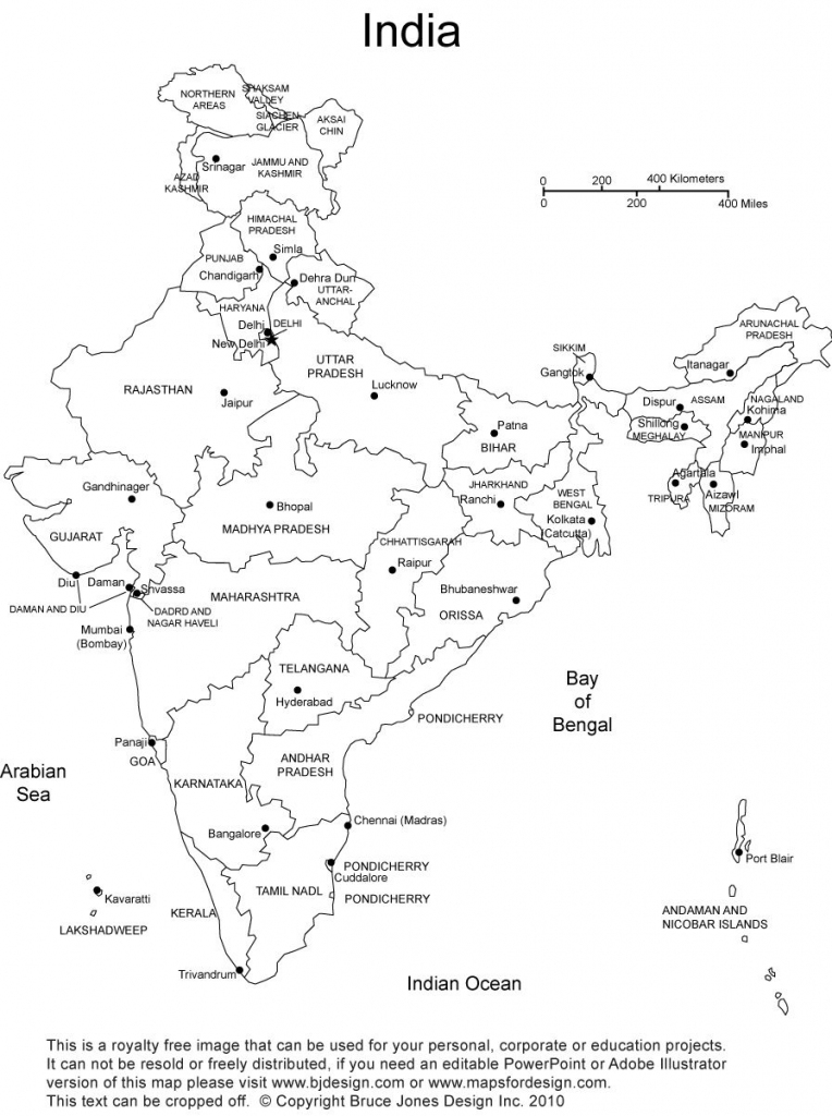 India Blank, Printable Map, Royalty Free, Clip Art | Country | India pertaining to Printable Map Of India