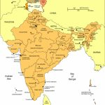India Printable, Blank Maps, Outline Maps • Royalty Free Regarding Printable Map Of India