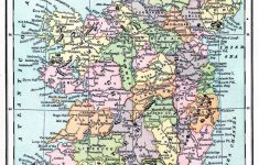 Instant Art Printable – Map Of Ireland – The Graphics Fairy with regard to Printable Map Of Ireland