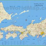 Japan Tourist Map Inside Free Printable Map Of Japan