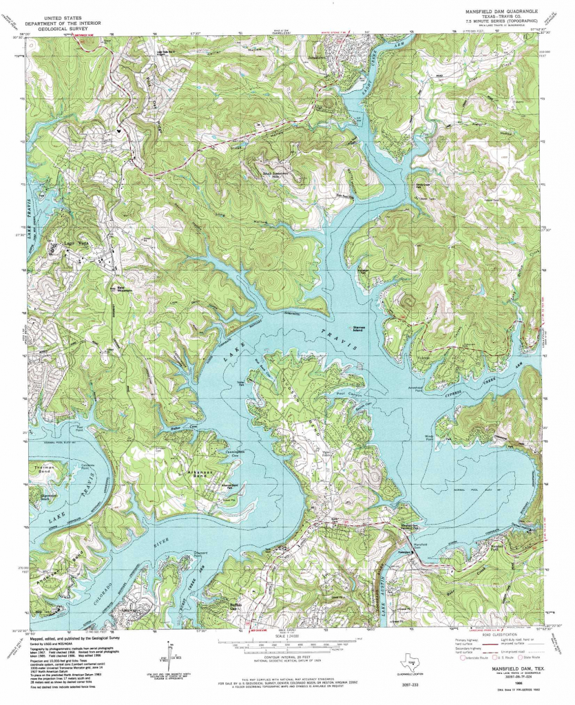 Lake Arrowhead California Map Free Printable Mansfield Dam for Free Printable Topo Maps