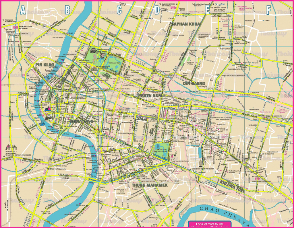 Large Bangkok Maps For Free Download And Print | High-Resolution And throughout Bangkok Tourist Map Printable