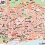 Large Barcelona Maps For Free Download And Print | High Resolution Inside Barcelona Street Map Printable