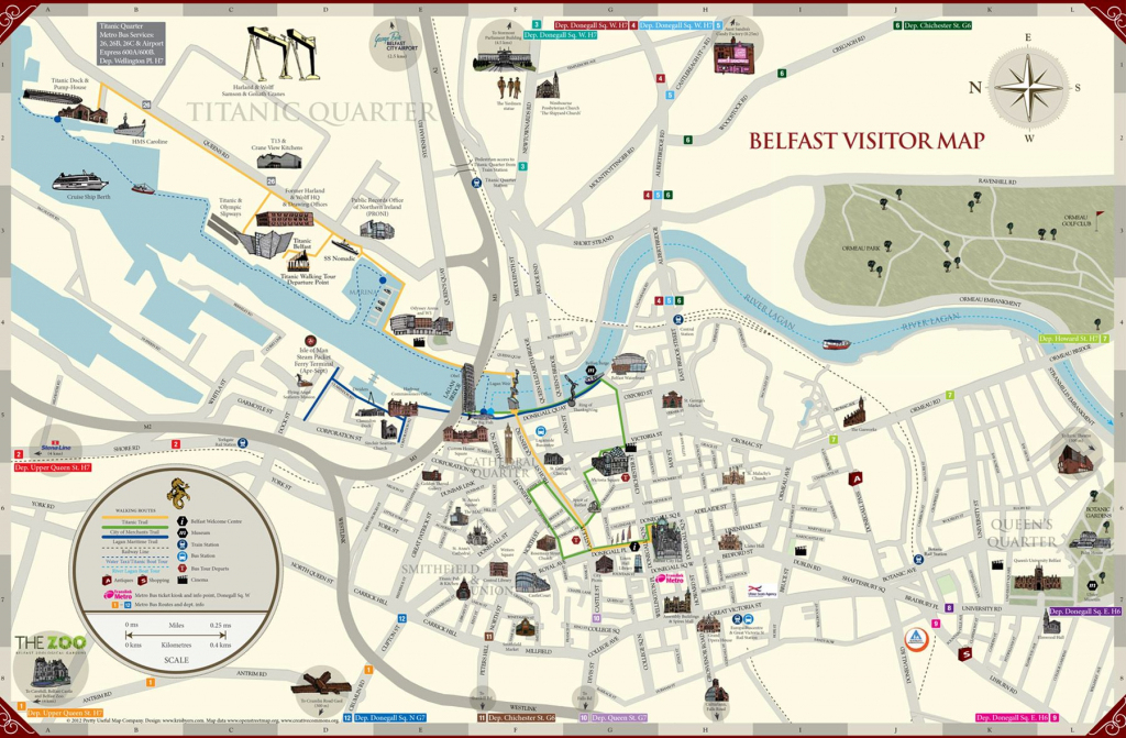 Large Belfast Maps For Free Download And Print | High-Resolution And within Belfast City Centre Map Printable