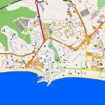 Large Benidorm Maps For Free Download And Print | High Resolution Pertaining To Printable Street Map Of Nerja Spain