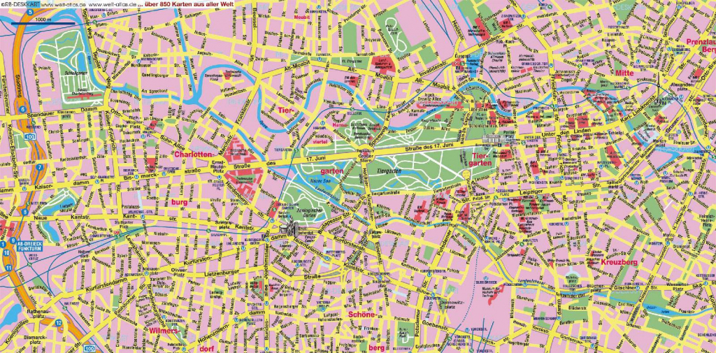 Large Berlin Maps For Free Download And Print | High-Resolution And regarding Printable Map Of Berlin