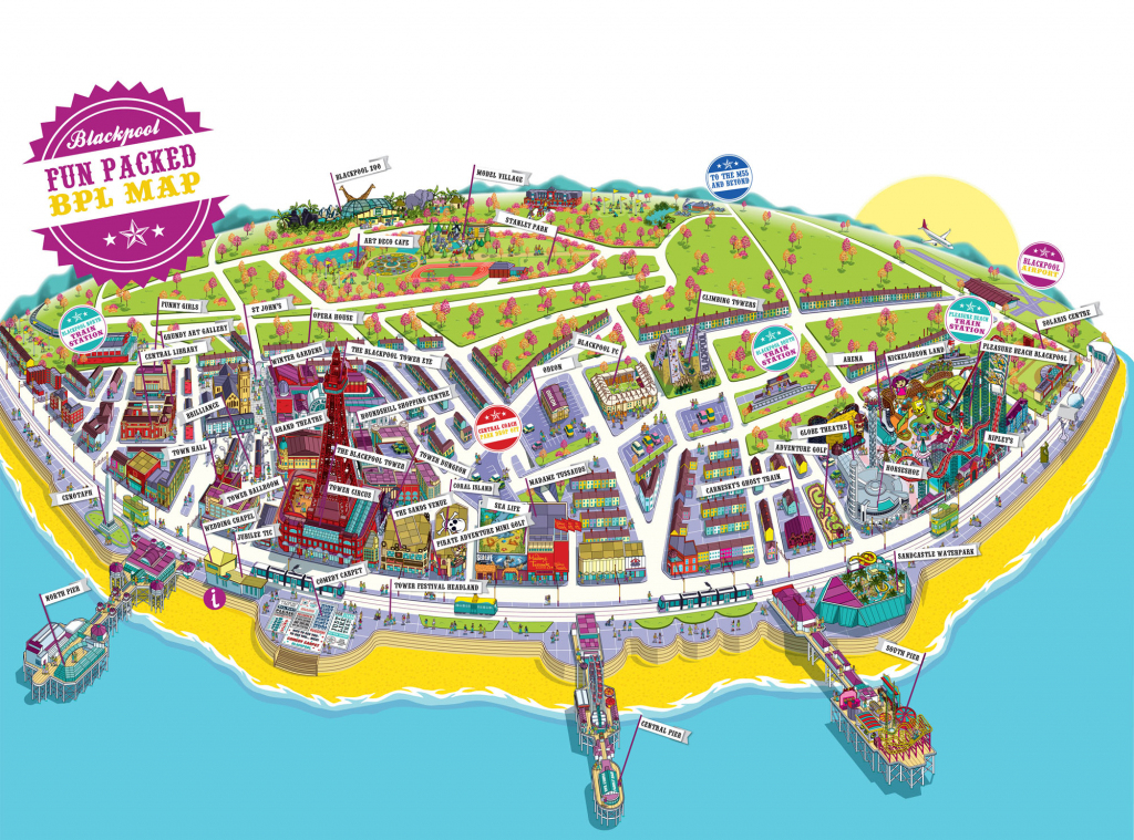 Large Blackpool Maps For Free Download And Print | High-Resolution inside Blackpool Tourist Map Printable