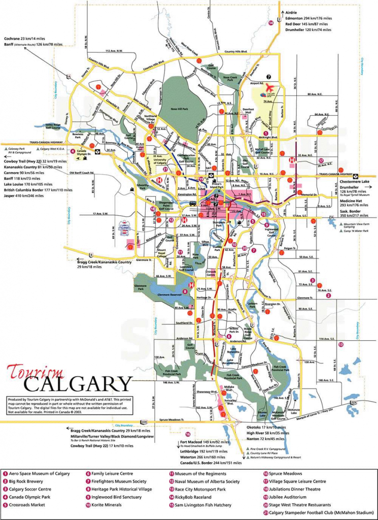 Large Calgary Maps For Free Download And Print | High-Resolution And intended for Printable Map Of Downtown Calgary