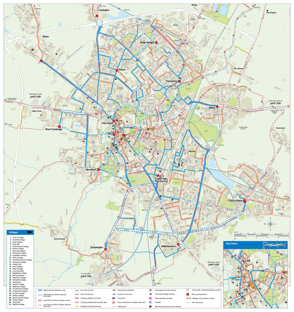 Large Cambridge Maps For Free Download And Print | High-Resolution with Cambridge Tourist Map Printable