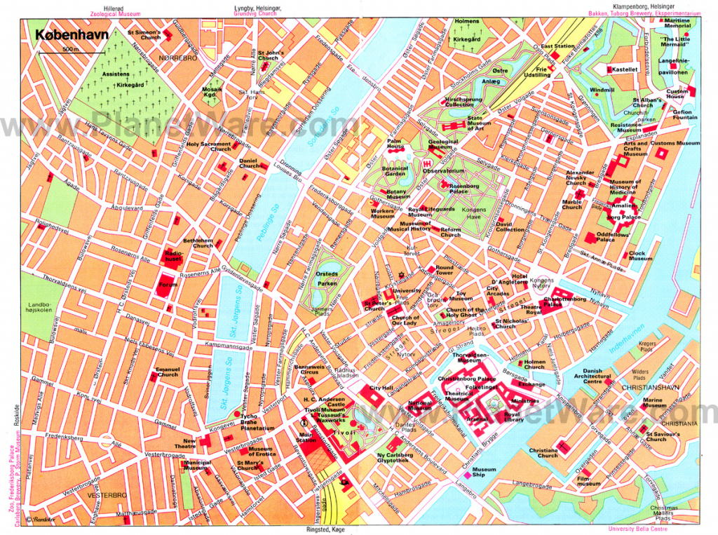 Large Copenhagen Maps For Free Download And Print | High-Resolution with Printable Tourist Map Of Copenhagen